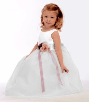 flower-girl-wedding-silk-top-white-dress-from-baby-to-teens
